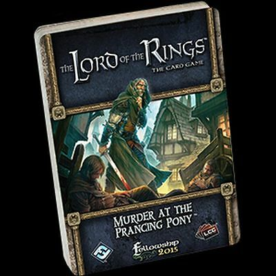 Murder at the Prancing Pony Lord of the Rings LCG Standalone Quest