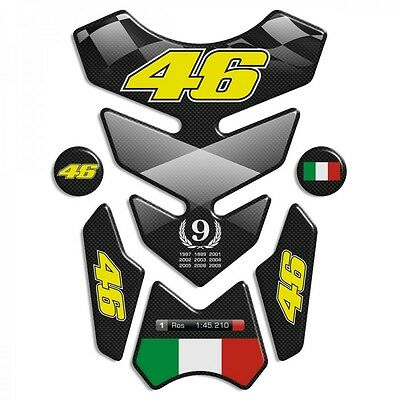 """TANK PAD Valentino Rossi 46 mod. """"3Wings Top""""  + 2 for free!"""
