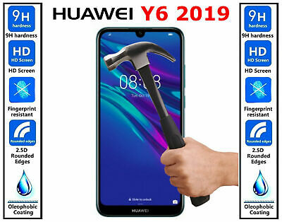 100% Genuine Gorilla Tempered Glass Screen Protector For Huawei Y6 2019