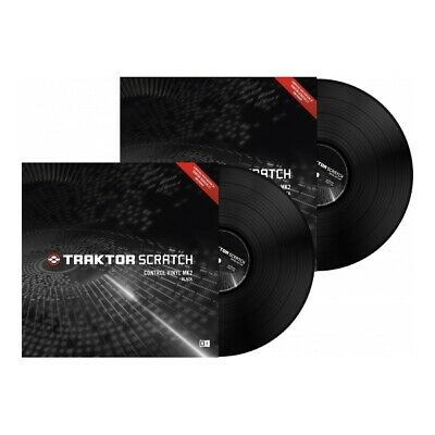 Native Instruments Traktor Scratch Timecode Vinyl MK2 black