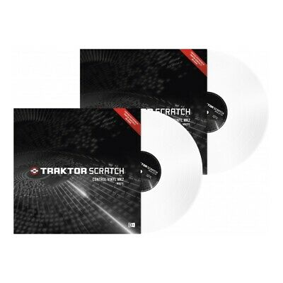 Native Instruments Traktor Scratch Timecode Vinyl MK2 white