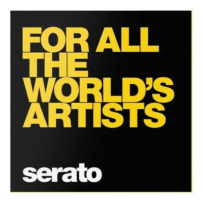 "Serato Rane Scratch Live Manifesto Timecode Vinyl ""For all the World"""