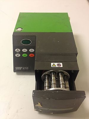 Watson Marlow 505S Pump with 205BA 4 Four Channel Eight Roller Cassette Free P&P