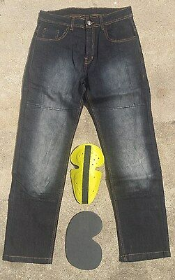 Motorcycle jeans lined with Kevlar®. Includes FREE CE ARMOR FREE SHIPPING!!