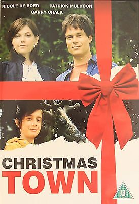 Christmas Town DVD Nicole De Boer Patrick New and Sealed Original UK R2