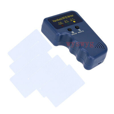 Upgrade 125KHz H/E 2in1 Card Fob Copier Duplicator Free 5 Writable Clone Card