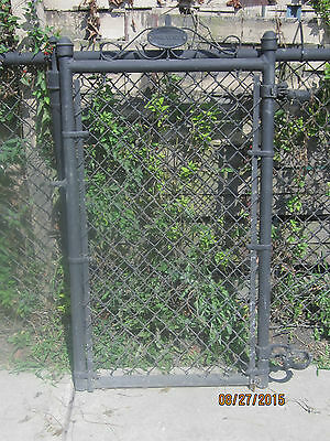 Vintage Metal Wire Ornate Garden Gate Door Chicago Fence Co