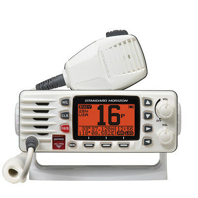 Standard Horizon GX1300 Eclipse Ultra Class D DSC NOAA VHF Boat Radio White