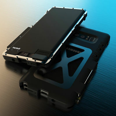 Armor Luxury Metal Shockproof Aluminum Case For Samsung Note 8 S8 / iPhone X 8 +