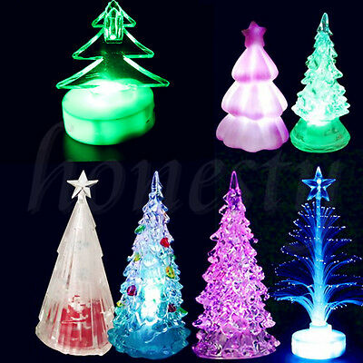 Colorful Changing Christmas Tree Decoration LED Light XMAS Party Night Lamp New