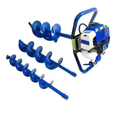 Hyundai All Weather Petrol Earth Auger / Borer / Drill With 2 Stroke Engine