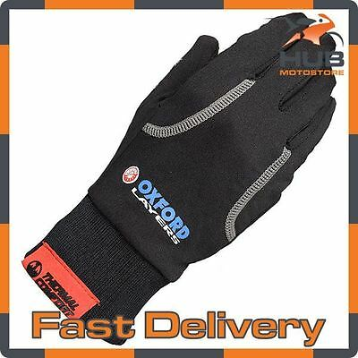 Oxford Layers Warm Dry Motorcycle Motorbike Thermal Base Layer - Gloves
