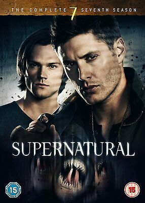 Supernatural Complete Series 7 DVD Season New Sealed UK Original R2 7th Seventh