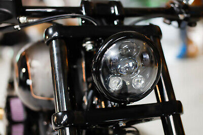 "LED SCHEINWERFER 5,75"" mit Standlicht Harley Night Train Sportster DYNA Softail"