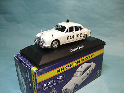 Atlas Edition 1:43 Scale Best Of British Police Cars Jaguar MkII Bedford Police