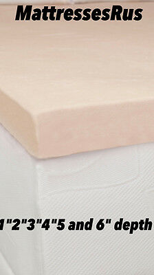 Orthopaedic Memory Foam Mattress Toppers In All Sizes And Depths