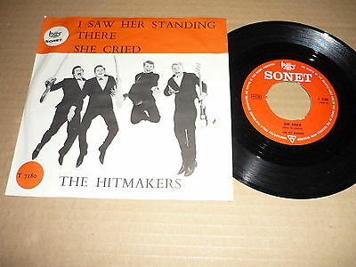 """*the Hitmakers 45 Tours 7"""" I Saw Her Standing There Beatles"""