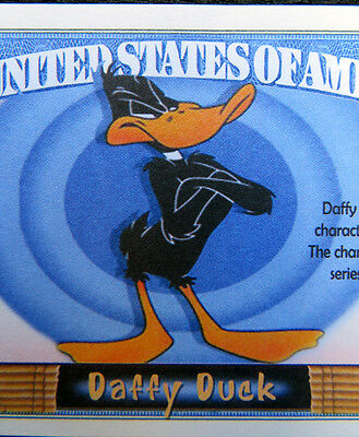 Daffy Duck FREE SHIPPING! Million-dollar novelty bill