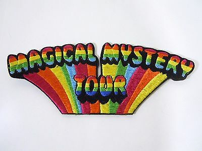 """BEATLES- Magical Mystery Tour - Embroidered Iron-On Patch - 5"""""""