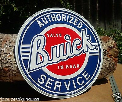 BUICK SERVICE Collectible TIN METAL SIGN Rustic Poster Retro Classic Vintage