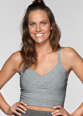 NEW Womens Lorna Jane Activewear   Scandal Cropped Active Tank