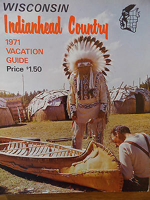 1971 Wisconsin Indianhead Country  Vacation Guide 3