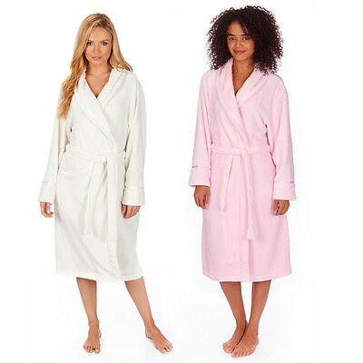 """New Ladies Coral Fleece Housecoats Dressing Gowns(""""FREE WORLDWIDE POSTAGE"""")"""