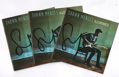 Shawn Mendes Illuminate REAL hand SIGNED Autographed Full Deluxe Edition CD