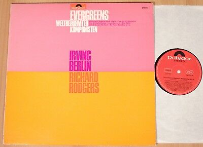 IRVING BERLIN & RICHARD ROGERS - Evergreens  (POLYDOR, D 1967 / LP m-)