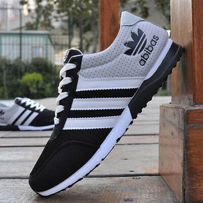 Fashion New Men's sports shoes breathable mesh Casual Running Athletic Sneakers