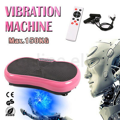 2016 NEW Vibration Platform Plate Trainer Machine Fitness Whole Body Massager AU