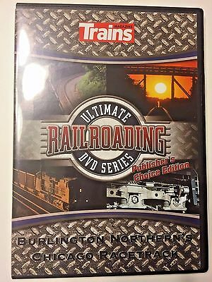 Trains Magazine Ultimate Railroading DVD Series Video Burlington Northern's