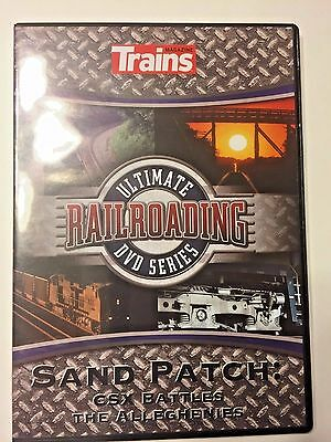 Trains Magazine Ultimate Railroading DVD Series Video Sand Patch CSX Battles