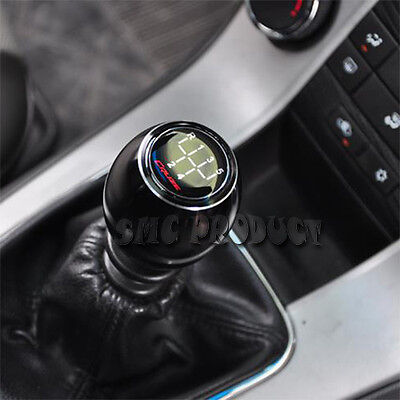 Shift Knob Universal 5 6 Speed Manual Gear Aluminum Holden Toyota Ford Black Red