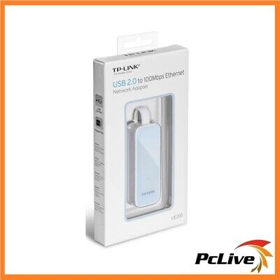 TP-Link UE200 USB 2.0 to 100Mbps Ethernet Network Adapter PC Ultrabook Macbook