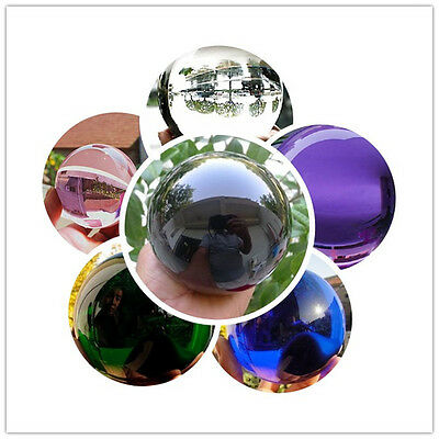 40-100mm Round Glass Crystal ball Sphere Buyers select the size