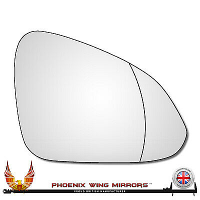 Right Ha Driver Side Vauxhall Insignia A 2008-2017 Wide Angle Wing Mirror Glass