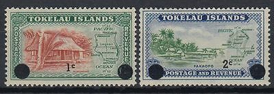 Tokelau 1967 ** Mi.6/7 Freimarken Definitives [st1608]
