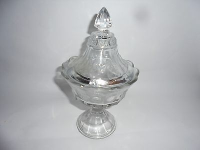 EAPG Northwood Strawberry and Cable Covered Compote 1907