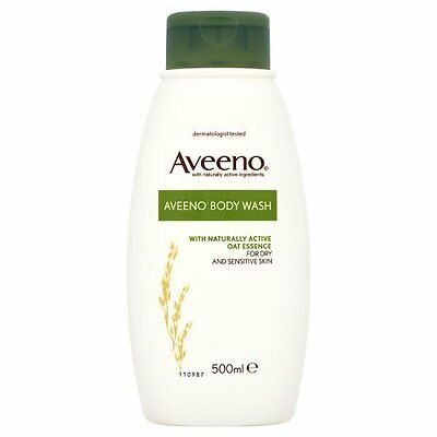 Aveeno Body Wash for Dry and Sensitive Skin, 500 ml