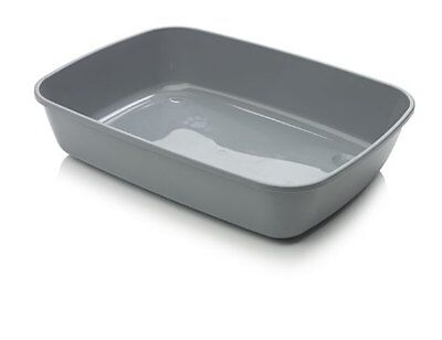 Savic Isis Cat Litter Tray, 50 cm, Cold Grey
