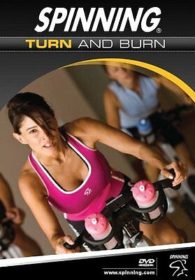 Spinning Turn and Burn Indoor Cycling DVD - Multicoloured