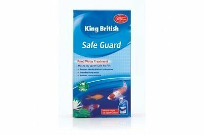 Beaphar King British Safe Guard De-Chlorinator for Ponds 500 ml