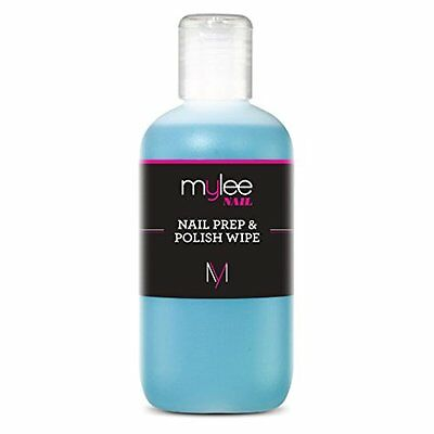 Mylee Prep + Wipe Nail Gel Polish Cleanser Cleaner sanitize UV LED Manicure 250m