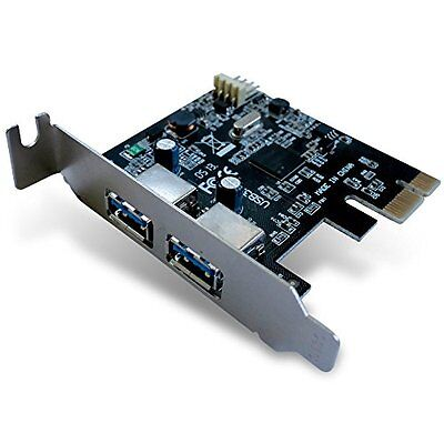 DYNAMODE 2-Port USB 3.0 PCI Express Adapter Card with Low Profile Bracket