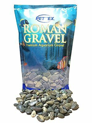 Pettex Roman Gravel Aquatic Roman Gravel, 2 Kg, Natural Japanese Pebbles