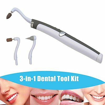 inkint 3-in-1 Multifunction Sonic Vibration Tooth Stain Eraser Plaque Remover Se