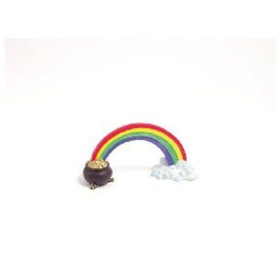 Rosewood Aquarium Fun Ormanent Rainbow Pot of Gold