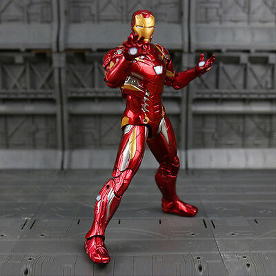 Iron Man 7 Inch Action Figure Toy Gift Marvel Captain America: Civil War