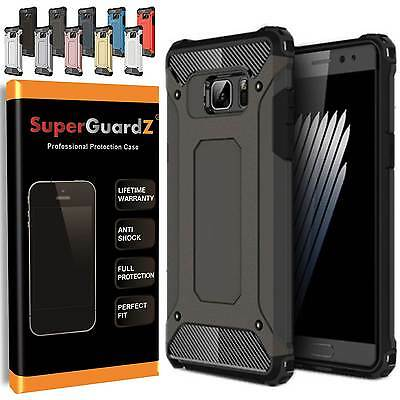 For Samsung Galaxy Note 4 - SuperGuardZ® Heavy-Duty Shockproof Cover Case Armor